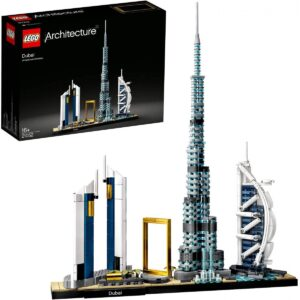 LEGO 21052 Architecture Dubai Model, Skyline Collection 1/3