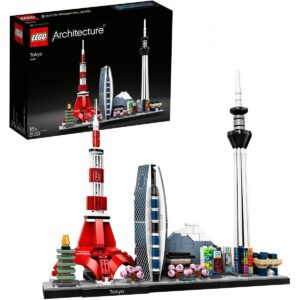 LEGO 21051 Architecture Tokyo Model, Skyline-Collection Tokyo torn 1/3